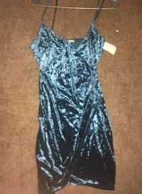 Brand New Blue Velvet Dress San Diego, 92113