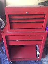 pink and black tool cabinet Kitchener, N2E