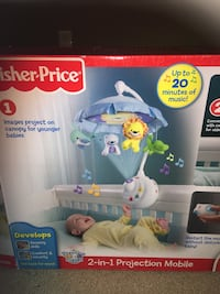 Baby Crib Mobile. In great condition and packaged in the box. Surrey, V3V 4S8