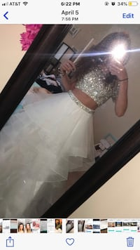 Sherri Hill size 00 prom dress worn once. Bought for $530   Greer, 29687