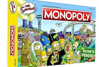 Simpsons monopoly game