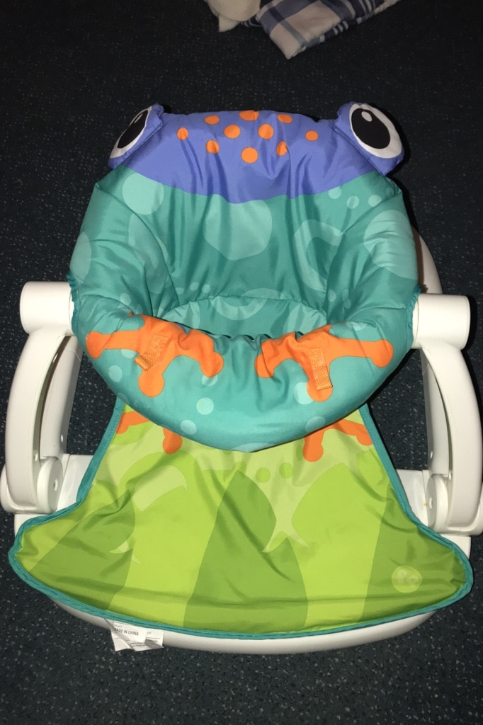 Photo Fisher Price Sit-Me-Up Floor chair was