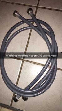 gray washing machine hoses Beckwith, K7C