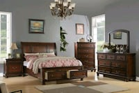 Queen Bedroom Set with Mattress complete brand new Hollywood, 33023