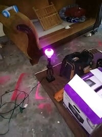 ColorChanging Lamp with speaker built inside