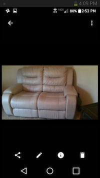 Leather loveseat Tampa, 33614