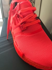 Brand new sz.11 Adidas nmd solar red w/receipt no trade   Woodbridge, 22192