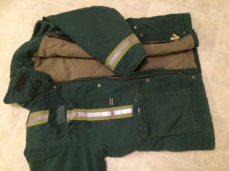 Winter working/industrial parka/jacket -40C. In an excellent condition ca455bbb-2cf4-4f6b-8643-66e96b1744b2