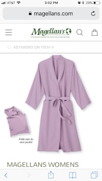 Purple bathrobe screenshot Maple Grove, 55311