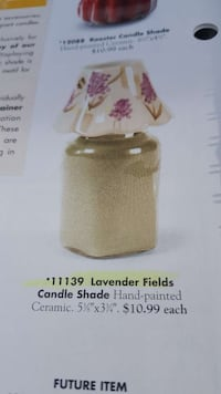 Lavender fields candle shade NEW South Gate, 90280