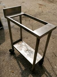 Stainless stell counter on wheels Mississauga, L5A 2X4