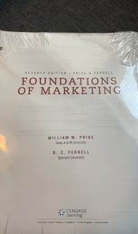 Foundations of marketing book