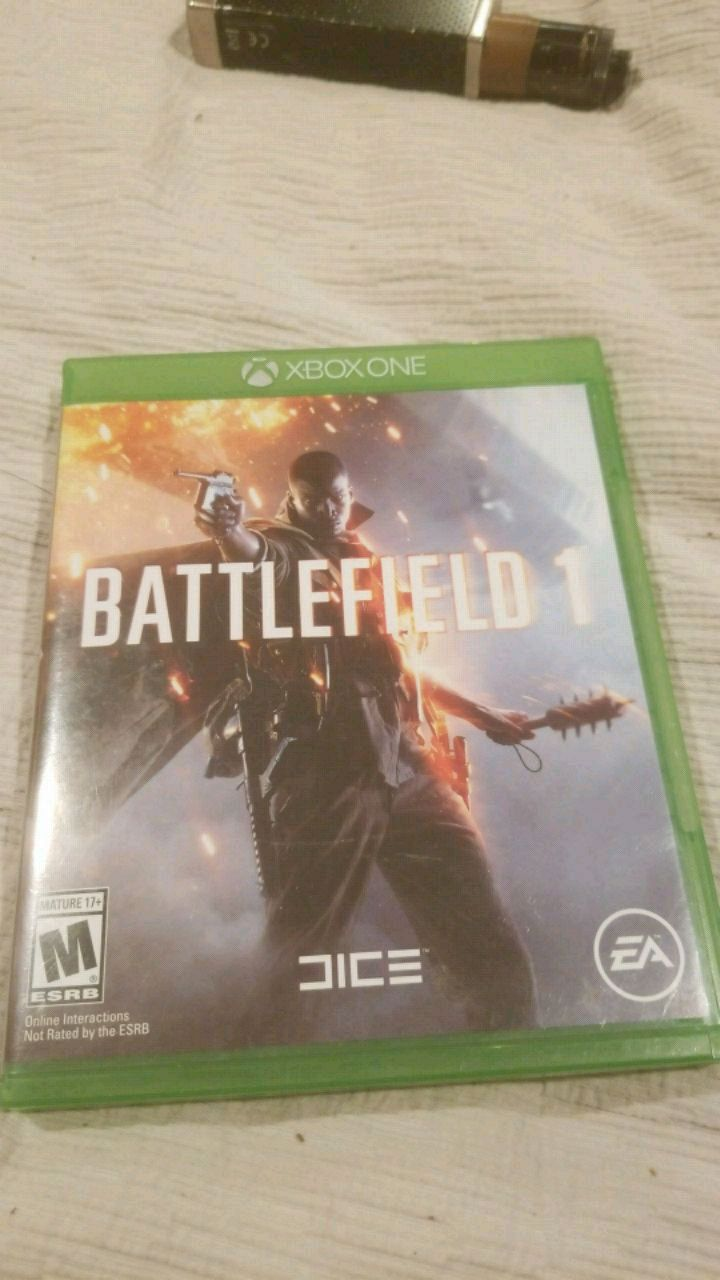 Used, Battlefield 1 Xbox One game case for sale  North Providence