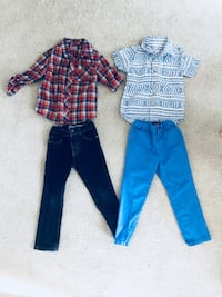 Boys 4T Outfits - pants and jeans are skinny fit  Columbia, 62236