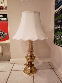 Mid Century Modern Stiffel Brass Lamp SEATTLE