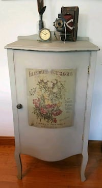 Chalk Painted Vintage Music Stand or Cabinet Wrentham, 02093