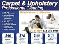Commercial carpet cleaning Los Angeles, 91405