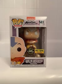 AANG ON AIRSCOOTER CHASE GLOW IN THE DARK MINT CONDITION WITH FREE FUNKO POP PROTECTOR Annandale, 22003