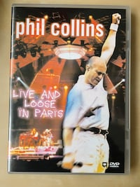PHIL COLLINS Live and loose in Paris DVD Madrid, 28020