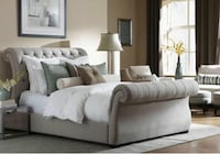 UPHOLSTERED SLEIGH BED MERCEDES Toronto