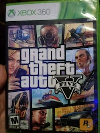 Grand Theft Auto Five Xbox One game case Jean Lafitte, 70067