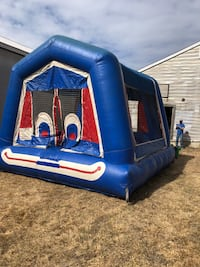 Clown bounce house.  Excellent conditon. Comes with blower