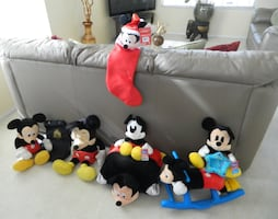 Mickey Mouse collectibles $70