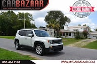 2015 Jeep Renegade White Pensacola, 32507