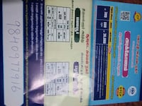 two blue and white tickets Chennai, 600012