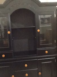 black wooden hutch with cabinet Rockville, 20850