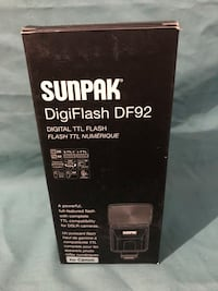 Sunpak flash unit