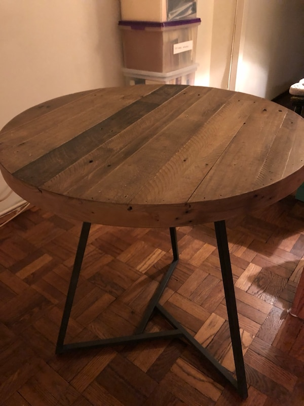 West Elm Reclaimed Wood Bistro Table