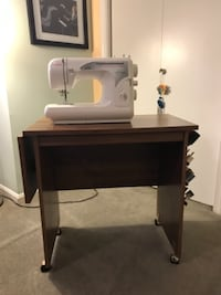 Drop-Leaf Sewing Table Alexandria