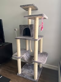 60 Inch Multi-Level Cat Tree