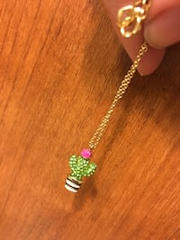 Kate Spade cactus necklace  Stoughton, 53589