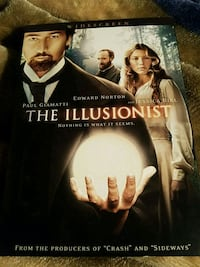 The Illusionist DVD Harrisburg, 17103