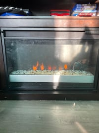 Heated Fire Place perfect heat