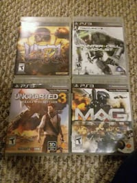 six assorted PS3 game cases DuBois, 15801