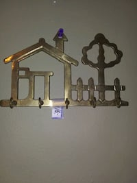 Brass Key Holder (Vintage) Dumfries, VA, USA