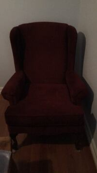 black and brown wooden armchair Austin, 78728