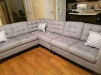 Brand new gray sectional Pearland, 77584