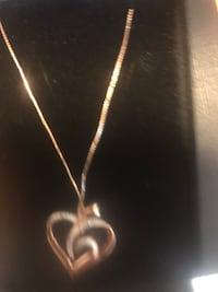 Rose gold and diamond necklace  Massillon, 44646
