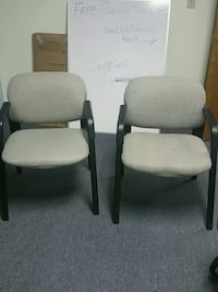 two black-and-white padded armchairs Colorado Springs, 80917