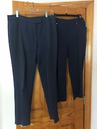 Two  Navy pants each $5 brand name Alfani/Anne Klein size 8/10 Deer Park, 11729