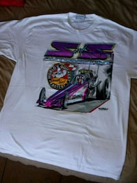 Vintage racing tee size large can fit an xl North Las Vegas, 89030
