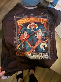 Hocus pocus Sanderson sisters shirt new medium
