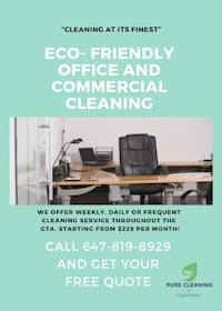 Office & Commercial Cleaning Burlington