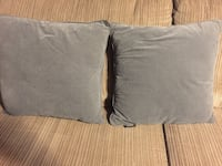 two gray and white throw pillows Calgary, T1Y 1X7