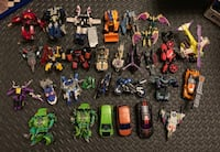 Transformers action figures toys collection mint  374 mi