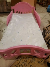 Princess bed and mattress. Name brand.  Vaughan, L4L 1V2